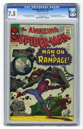 Amazing Spider-Man #32 CGC 7.5 Marvel Comics.