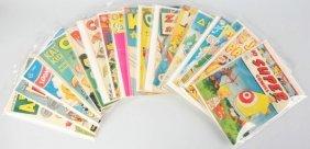Lot Of 18: 1940s-50s Funny Comic Books.