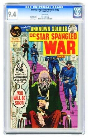 Star Spangled War Stories #163 CGC 9.4.