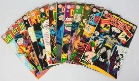 Lot Of 13: 1960s Detective Comic Books.