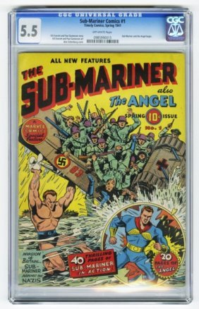 Sub-Mariner Comics #1 CGC 5.5 Timely Comics.