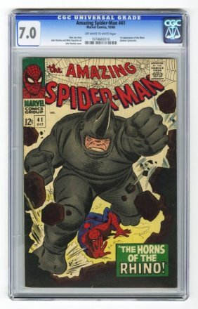 Amazing Spider-Man #41 CGC 7.0 Marvel Comics.