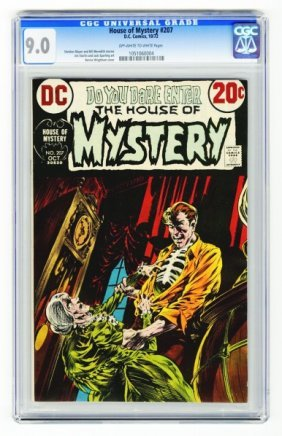 House Of Mystery #207 CGC 9.0 D.C. Comics 10/72.