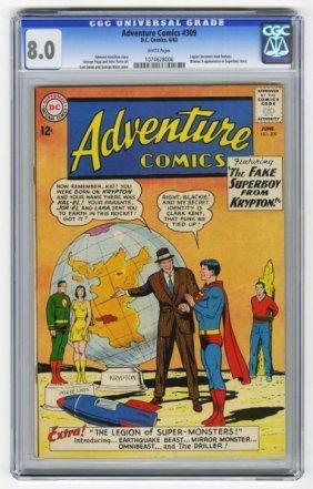 Adventure Comics #309 CGC 8.0 D.C. Comics 6/63.