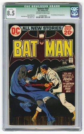 Batman #243 CGC 8.5 D.C. Comics 8/72.