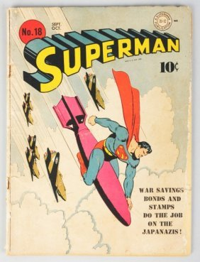 Superman Comic Book #18.