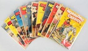 Lot Of 56: 1950s Hopalong Cassidy Comic Books.