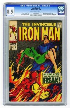 Iron Man #3 CGC 8.5 Marvel Comics 7/68.