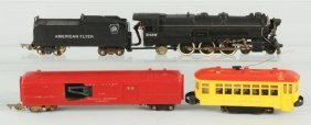 Lot Of 4: American Flyer & Lionel Train Items.