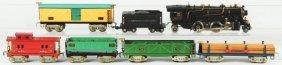 Tinplate American Flyer O-Gauge Freight Train Set