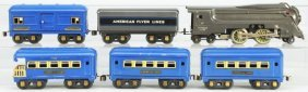 American Flyer O-Gauge Passenger Train Set.