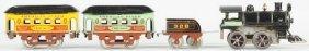 Emond-Metzel American Flyer Clockwork Train Set.