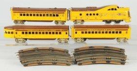 American Flyer Union Pacific Passenger Train Set.