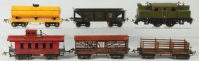 Ives No. 3241 Standard Gauge Freight Train Set.
