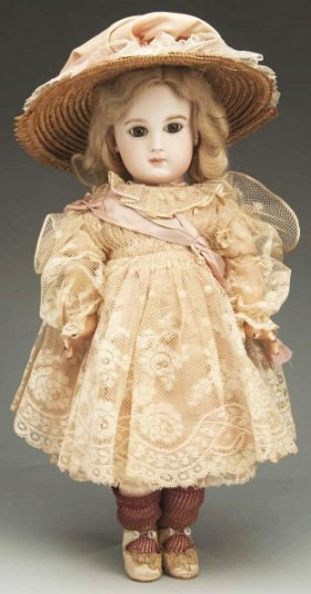 Exquisite Incised Jumeau B�b� Doll.