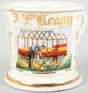 Carpenter's Shaving Mug.