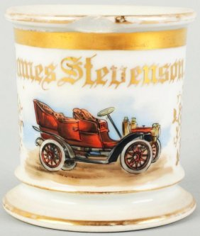 Automobile Shaving Mug.