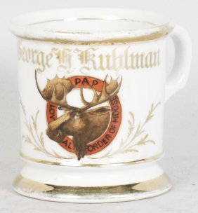 Order Of The Moose Shaving Mug.