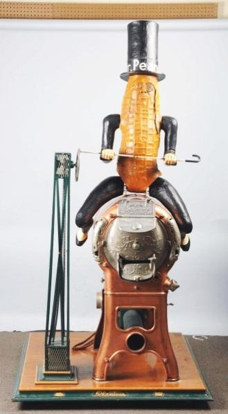 Rare Planter S Peanut Roaster W Topper Lot 825b