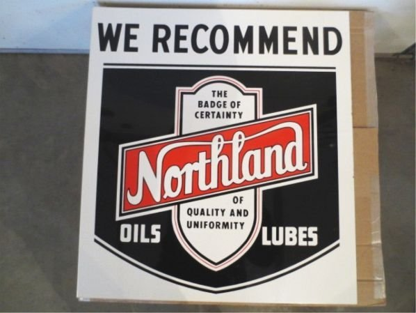 Northland oils with logo lot 232 for Northland motor oils lubricants
