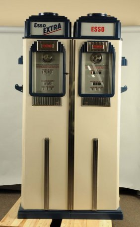Tokheim Model 36b Double Computing Gas Pump Lot 57