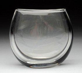 Kosta Art Glass Vase.