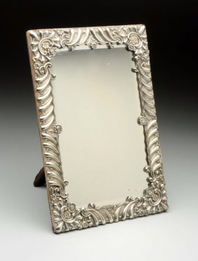 American Sterling Dressing Table Mirror.
