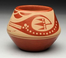 Native American Indian Pottery Bowl.