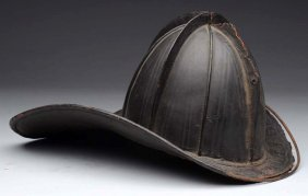 Antique Firefighter Helmet.
