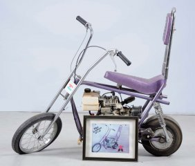 '71 E-z Rider Mini Bike By Alexander Reynolds Corp