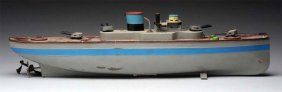 Fleischmann Tinplate Battleship.
