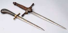 Lot Of 2: Very Early Daggers.