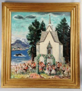 B.j.o. Nordfeldt (1878 - 1955).