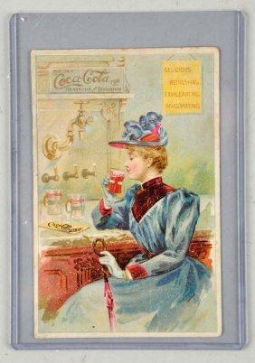 Scarce 1892 Coca Cola Trade Card.