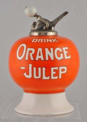 Orange-julep Syrup Dispenser