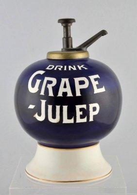 Drink Grape-julep Syrup Dispenser.