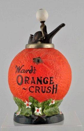 Ward's Orange Crush Syrup Dispenser.