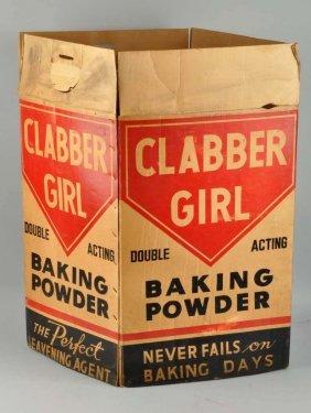 Clabber Girl Baking Powder Display Box.
