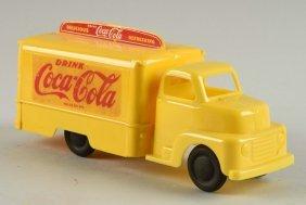 Marx Plastic Coca-cola Delivery Truck.
