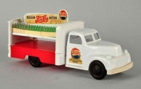 Marx Plastic Pepsi Cola Truck-chevrolet.