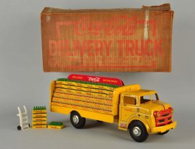Marx Tin Litho Coca-cola Delivery Truck #22