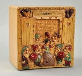 Emerson Walt Disney Snow White & 7 Dwarfs Radio.
