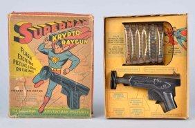 Superman Krypto-raygun.