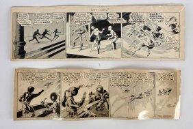 Lot Of 2: Original Buck Rogers Comic Strips