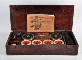 A.c. Gilbert 1927 Set No. 8 Erector Trumodel Set.
