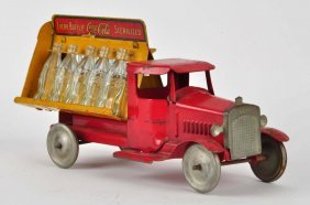 Pressed Steel Metalcraft Coca-cola Truck.
