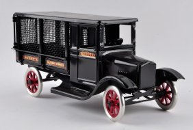 Pressed Steel Railway Express Truck.