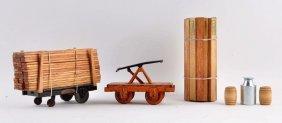 Pressed Steel Buddy-l Industrial Handcar.