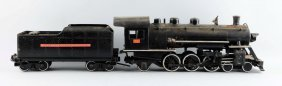 Pressed Steel Buddy L. Locomotive & Tender.