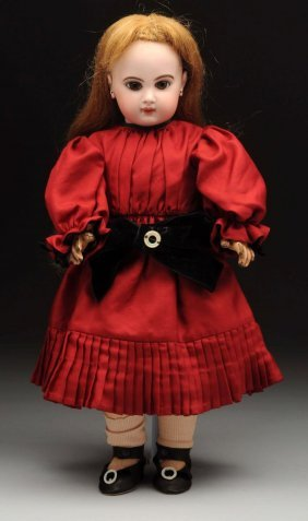 French Bisque Head Doll.